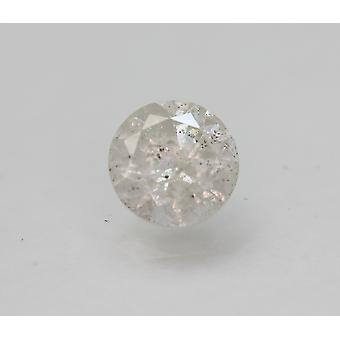 Certified 1.85 Carat F Color Round Brilliant Natural Loose Diamond 7.64mm