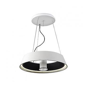 Lámpara Colgante Ringofire, Poliuretano, Nègre, 60 Cm