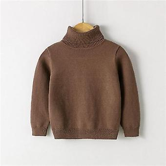 Autumn And Winter New High Neck Knitted Sweater, Baby Winter Clothes