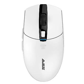 Wireless Game Mouse Lightweight Adjust Mäuse (weiß)