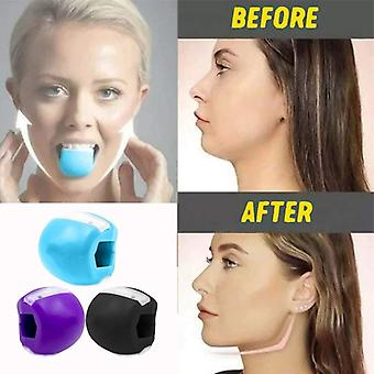 Chin Muscle Jawline Exerciser Face Lifting Jaw Trainer Ball Face Toning Jawrsize Muscle Training Fitness Ball