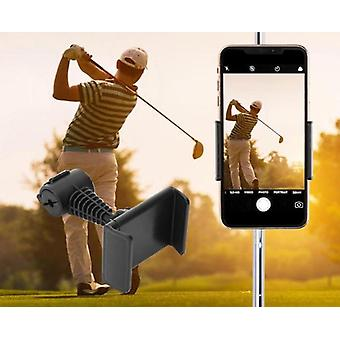 Cell Phone Clip Stand Bracket Support For Alignment, Record Phone Holder