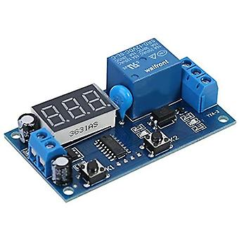 0s-24h Infinite Cycle Delay Timing Timer Relay On-off Switch