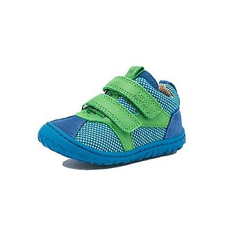 Lurchi nevio blue & green barefoot trainers
