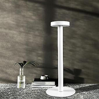 オフィスリビングルームの研究ランプのための導かれたアルミニウム合金防水デスクランプタッチ調光充電式金属ディナーテーブルランプ