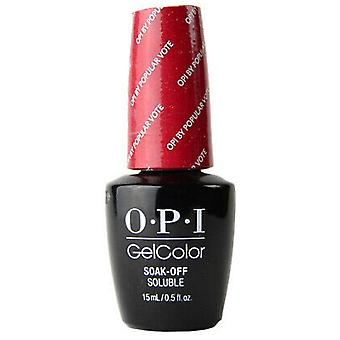 OPI GelColor Gel Polish Washington DC Collection - Par vote populaire