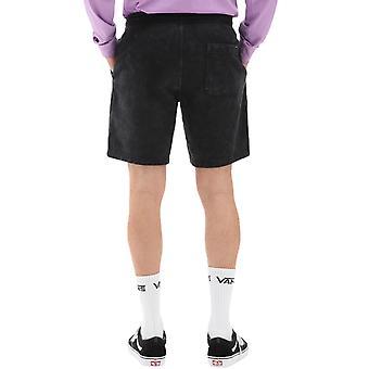 Vans Mens Easy Wash Casual Gym Sport Casual Fleece Sweat Shorts - Svart