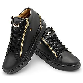 Sneaker - Cesar Full Black - Zwart