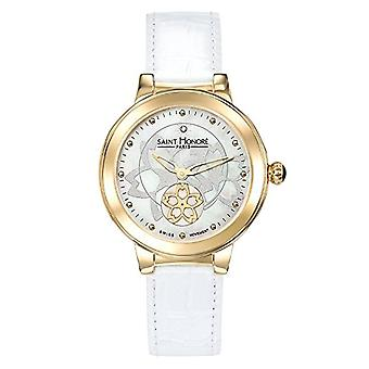 Saint Honore Analog Quartz Watch for Women with Leather Strap 7620223FYID