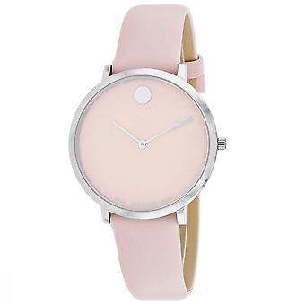 Movado Mujeres's Reloj moderno de marcación rosa - 607388