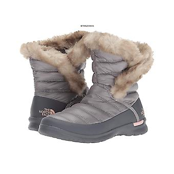 The North Face Womens Thermoball Microbaffle Bootie II Round Toe Ankle Cold Weather Boots