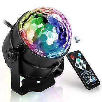 Son activé En rotation Disco Ball Party Lumières