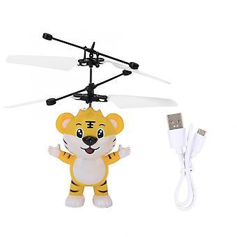 Mini Drone Infračervený senzor, Vrtuľník, Rc Fly Indukčný štvoruholník, Blikajúce