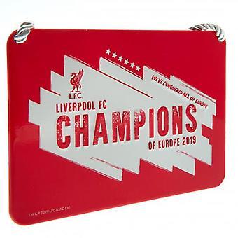 Liverpool FC Champions av Europa soverom Registrer