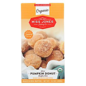 Miss Jones Baking Co Mix Pumpkn Donut Muf Mini, Case of 6 X 14.1 Oz