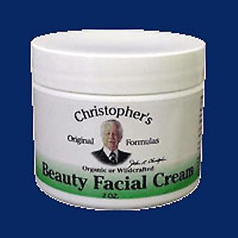 Dr. Christophers Formulas Ointment Beauty Facial Cream, 2 oz