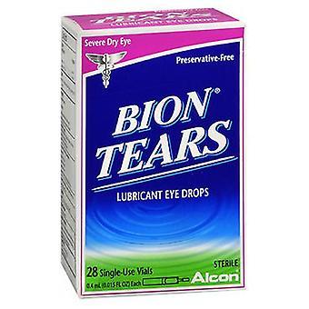 Bion Tears Bion Tears Lubricant Eye Drops Single Use Vials, 28 vials