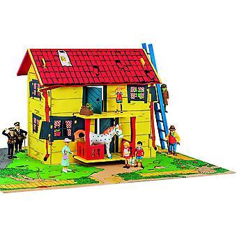 Wokex 44375300 Pippi Haus mit Spielmatte