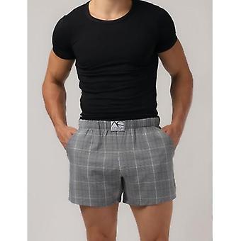 Adam Smith - Relax Shorts mit Tasche - Plaid
