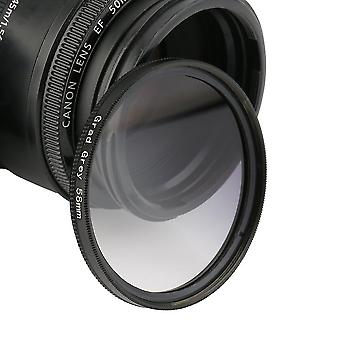 Uniwersalne filtry 58mm Circo Mirror Lens Gradient UV dla lustrzanki obiektywu