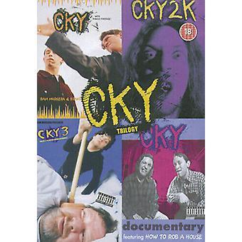 CKY Trilogy Collectors Box DVD (2003) Bam Margera cert 18 Região 2
