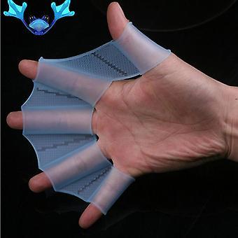Hot Swim Gear Aletas a mano aletas webbed Silicone Entrenamiento Paddle Dive Glove
