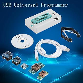 Univerzální programátor Tl866cs Usb Flash 8051 Adaptéry Avr Mcu Gal Pic Spi 5