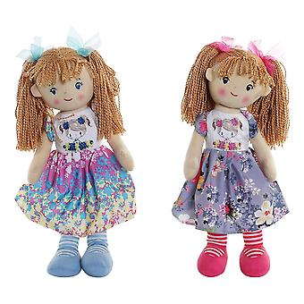 Rag Doll DKD Home Decor (2 pcs) (23 x 15 x 50 cm)