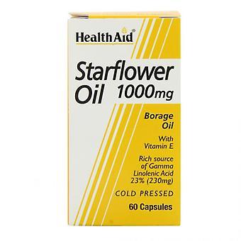 HealthAid Starflower Öl 1000mg (23% GLA) Kapseln 60 (802170)