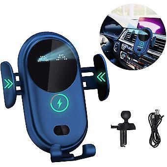 Автоматическое зажим беспроводное автомобильное зарядное устройство с креплением держателя телефона