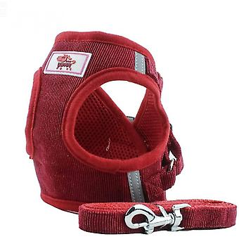 Soft Training Harness Vest Mesh Fabric Dog Vest Harnesses For Puppy, Cats, Small Animals Ps042 (xs, Red)