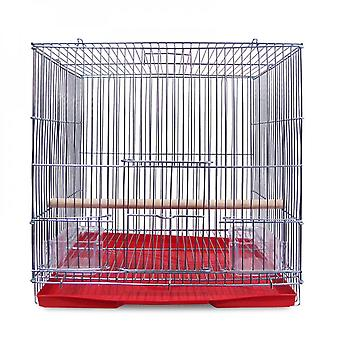 Parrot Cage Small Domestic Breeding Cage Electroplated Metal Wire Rabbit Cage Breeding Cage