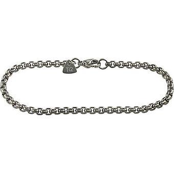 Ti2 Titanium venezianischen Inka Armband - Silber