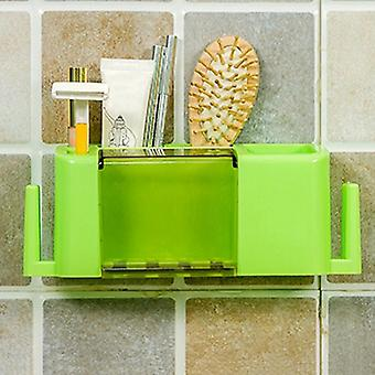 Multifunctional Toothpaste And Toothbrush Holder Creative Organizer Box