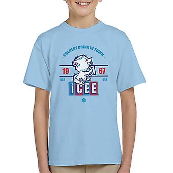 ICEE Coldest Drink In Town Since 1967 Kid's T-Shirt
