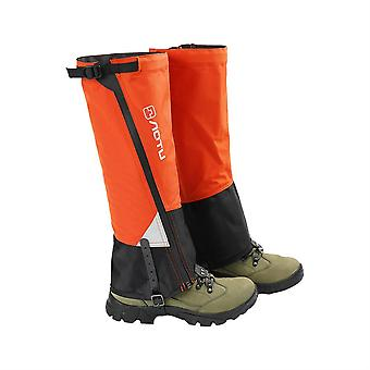Outdoor camping hiking climbing waterproof snow legging gaiters skiing desert snow boots shoes covers