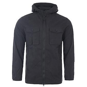 Forty Curtis Hooded Shirt Jacket - Black