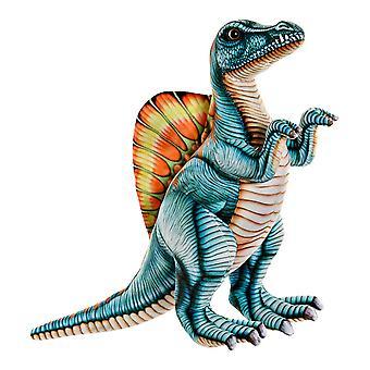 رقيق ة الدي كي دي ديكور المنزل الأخضر البوليستر ديناصور (40 × 17 × 37 سم)