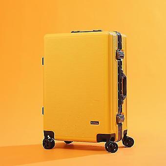 aluminium ramme rullende bagasje spinner på hjulet bære på reise koffert