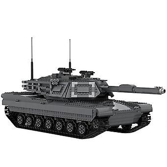 Zabawki dla dzieci 3081 PCS Military Bridge Layer Tank Building Blocks Modułowe pojazdy transportowe