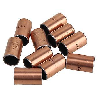 Pulleys, blocks sheaves 10x sf-1 bronze bushing bearing 10mmpcs 12mmpcs 20mm bush motor sleeve ppm-3978