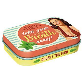 De tar andan ur sockerfri mynta tenn - Cracker Filler Gift
