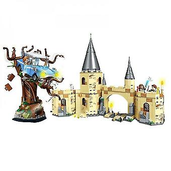 Diikamiiok Magic Castle Great Hall Building Figure Toys Brain Game Model Anime Gifts|stacking Blocks
