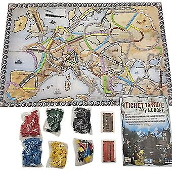 Tile games european ticket tour board game child tent funny creative christmas gift kids toys family