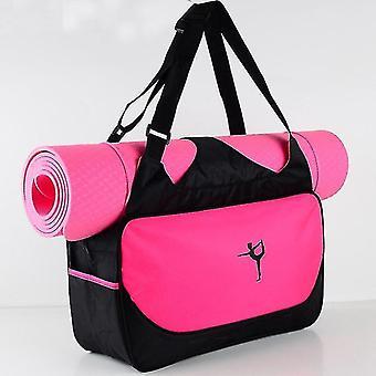 Yoga mat bags straps multifunctional waterproof scandinavian style clothes yoga bag purple