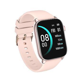 Nieuwe kw76 slimme horloge 1.75inch volledig scherm ip68 waterdichte mannen vrouwen kijken hartslag diy gezicht
