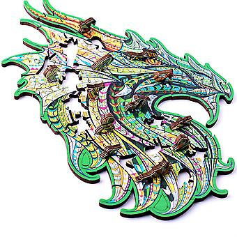 Kinderen's Gift Guardian Dragon houten legpuzzel