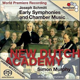 J. Schmitt - Joseph Schmitt: Early Symphonies and Chamber Music [SACD] USA import