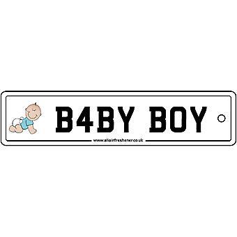 Baby Boy Nummernschild Auto Lufterfrischer