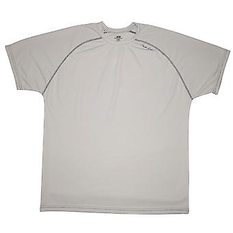 Cliff Keen MXS los Gear korte mouw technische Shirt - grijs